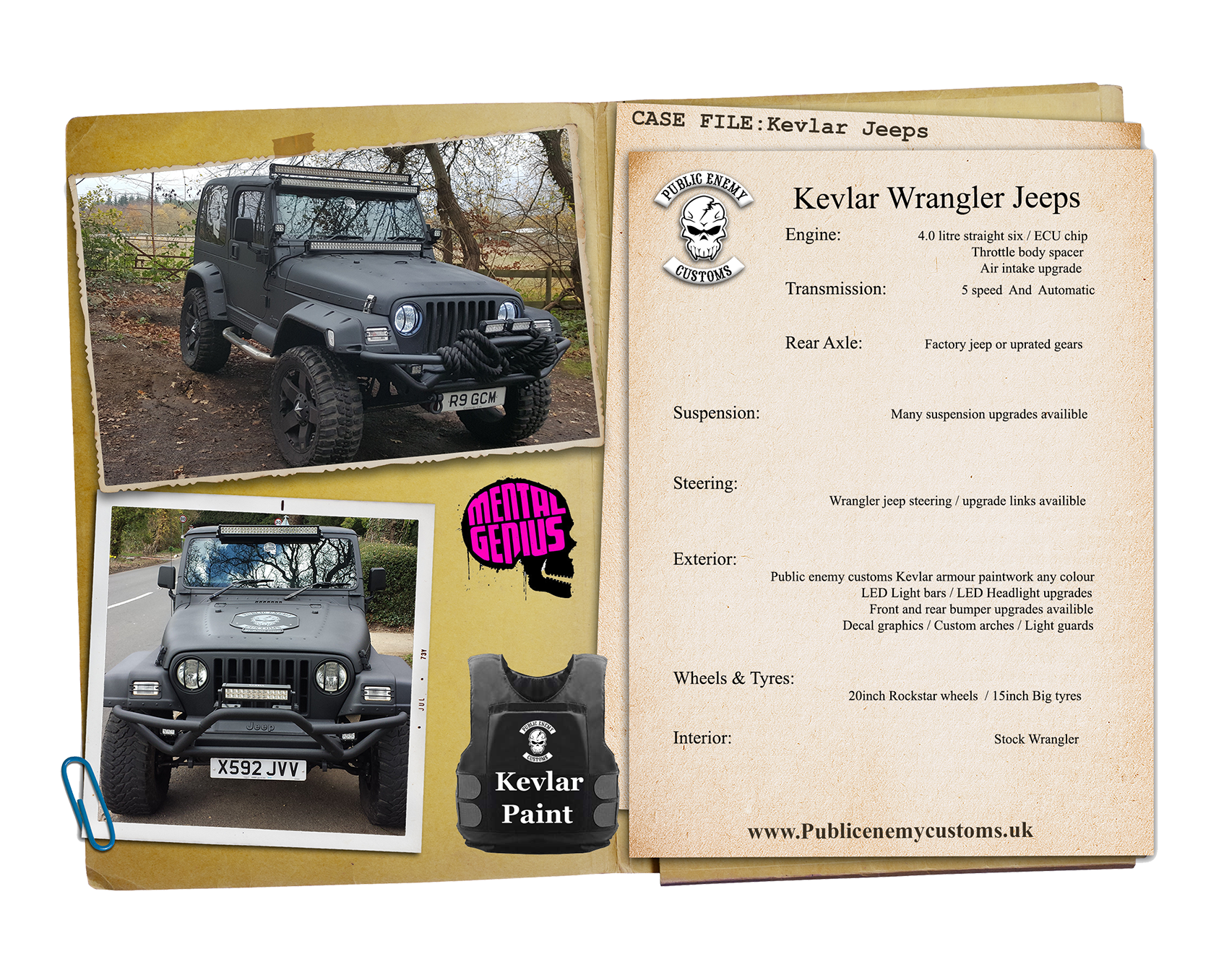 Case File Kevlar Wrangler Jeeps small