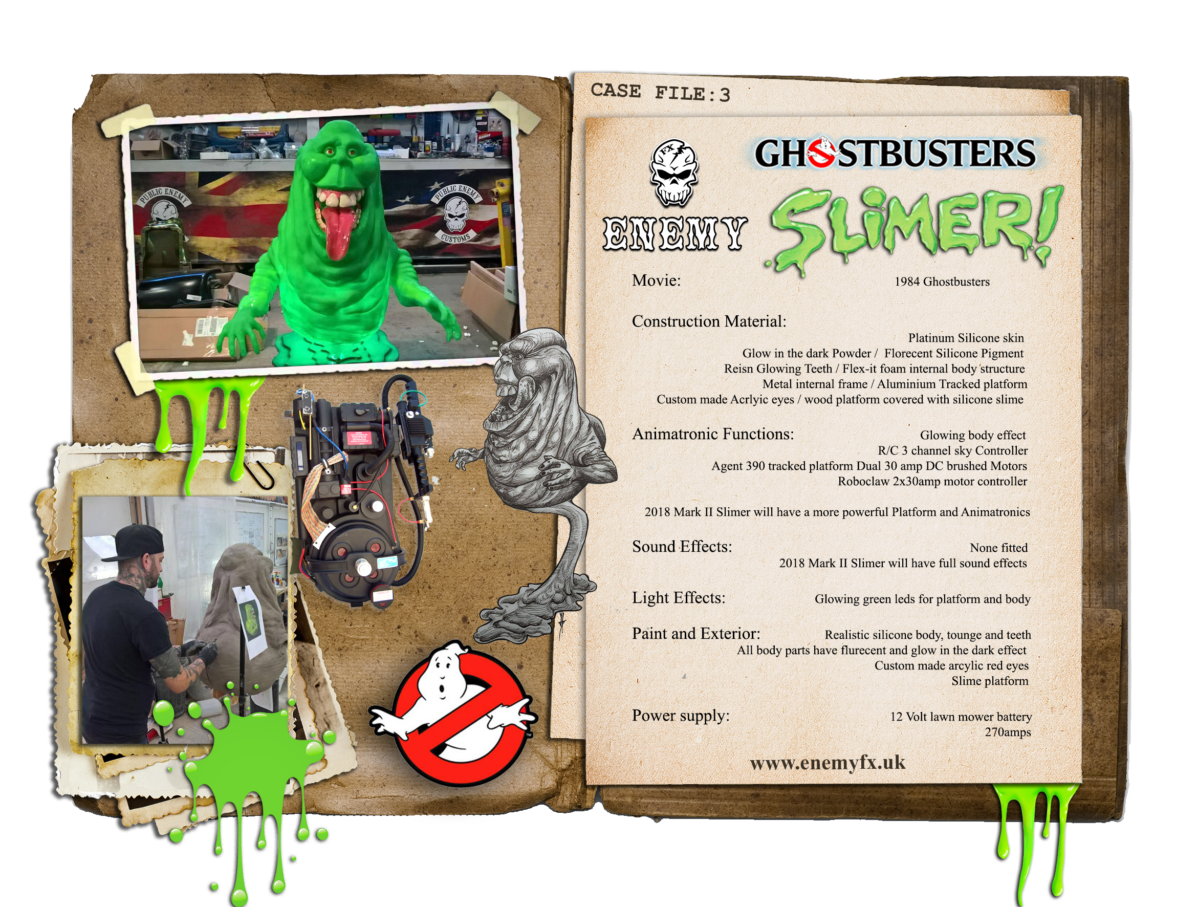 CASE FILE 3 RC Slimer