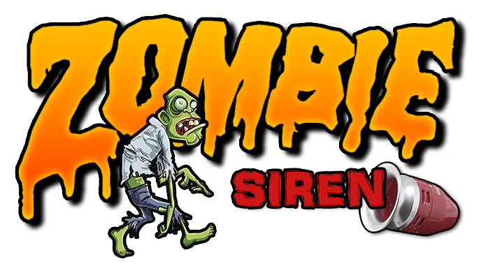 Zombie Siren Decal