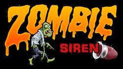 Zombie Siren Decal