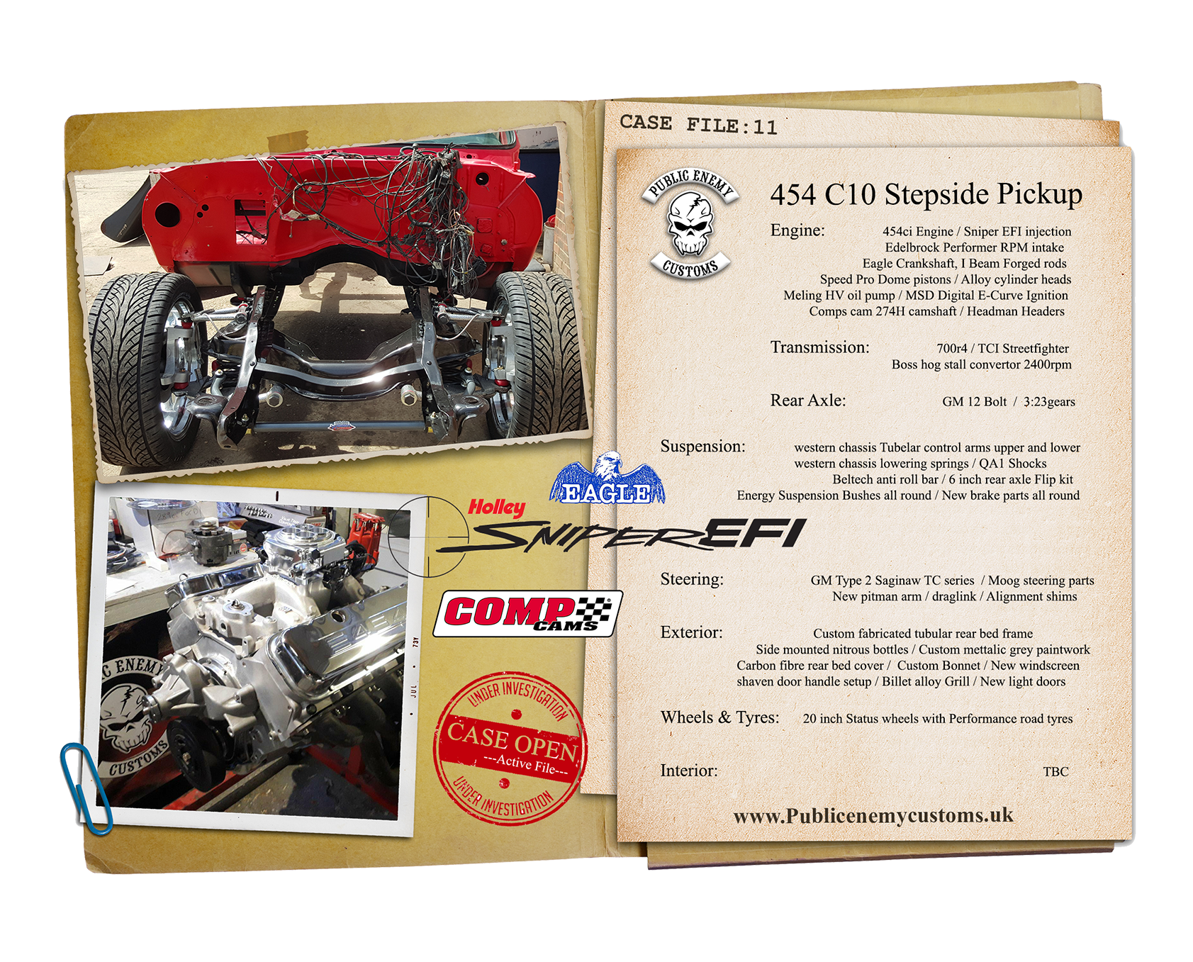 CASE FILE 11 454 C10 Pickup small