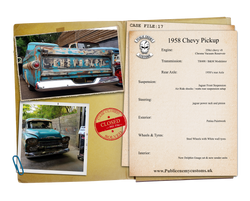 CASE FILE 17 Chevy 58 Pickup small