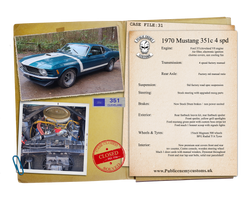 Case File 31 Ford mustang 351cleveland s