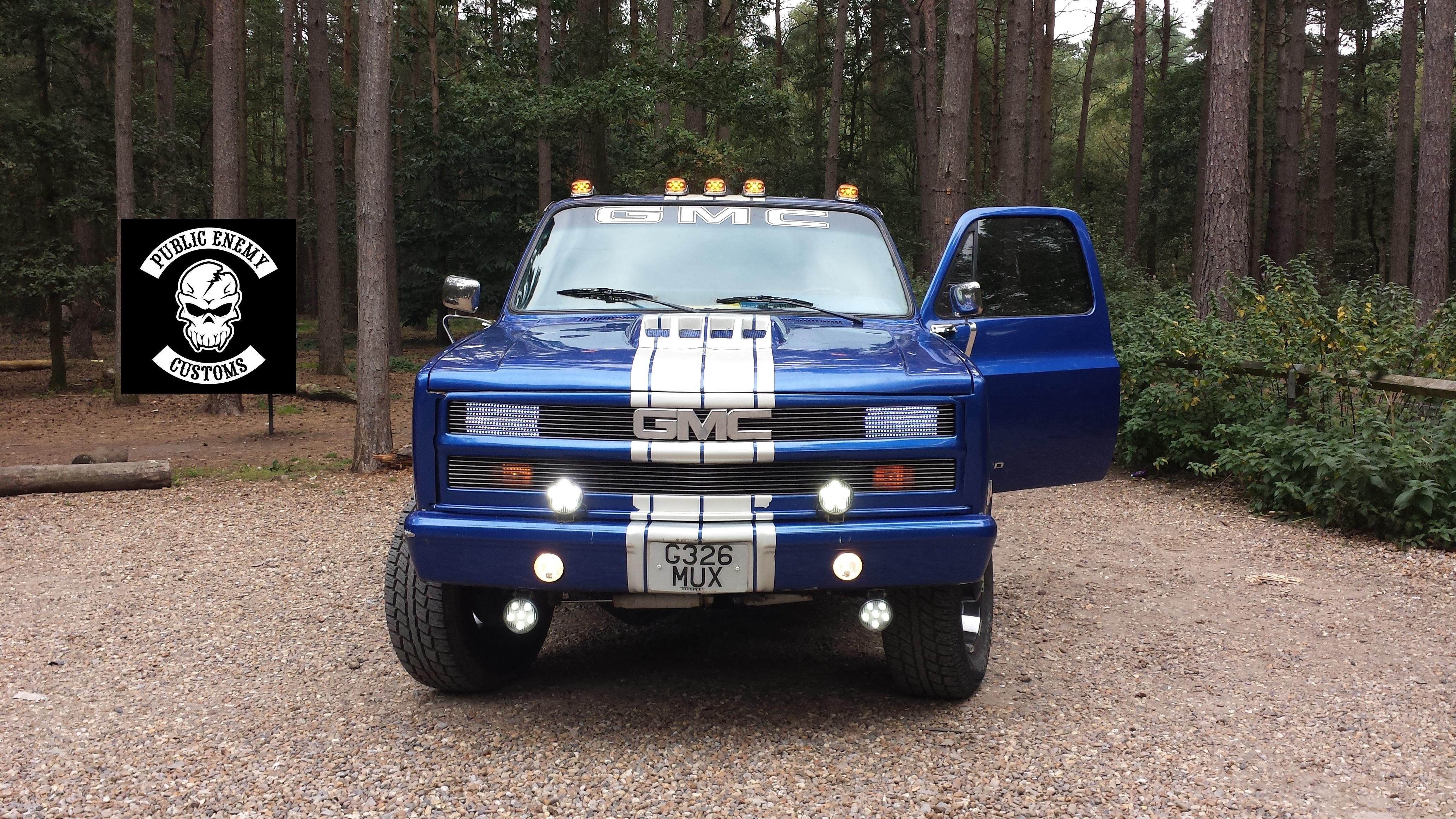 Blue Truck 21