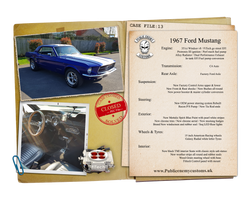 1967 Ford Mustang Case File 13 small