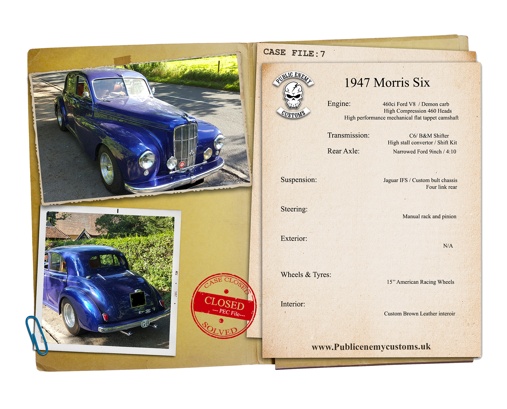 1947 Morris Six Casefile 7 small