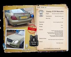 CASE FILE 37 Enemy E320 Mercedes small