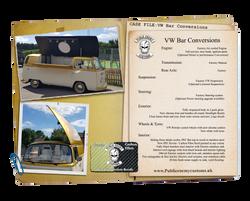 Case Files VW Bar Conversion fizzy flute