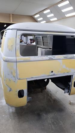 van in paint