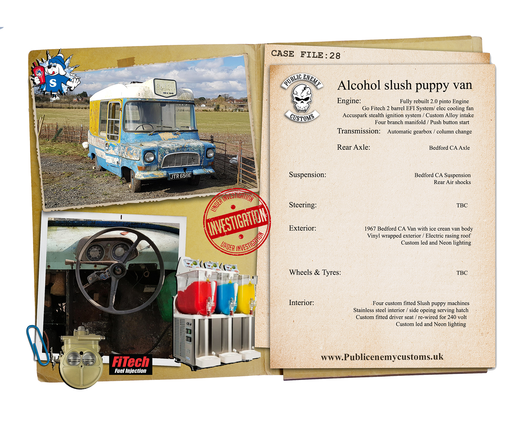 CASE FILE 28 Bedford slush puppy van small