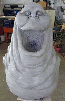 Slimer Sculpture