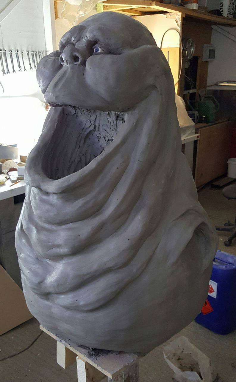 Slimer Sculpture 3