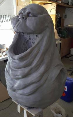 Slimer Sculpture 3