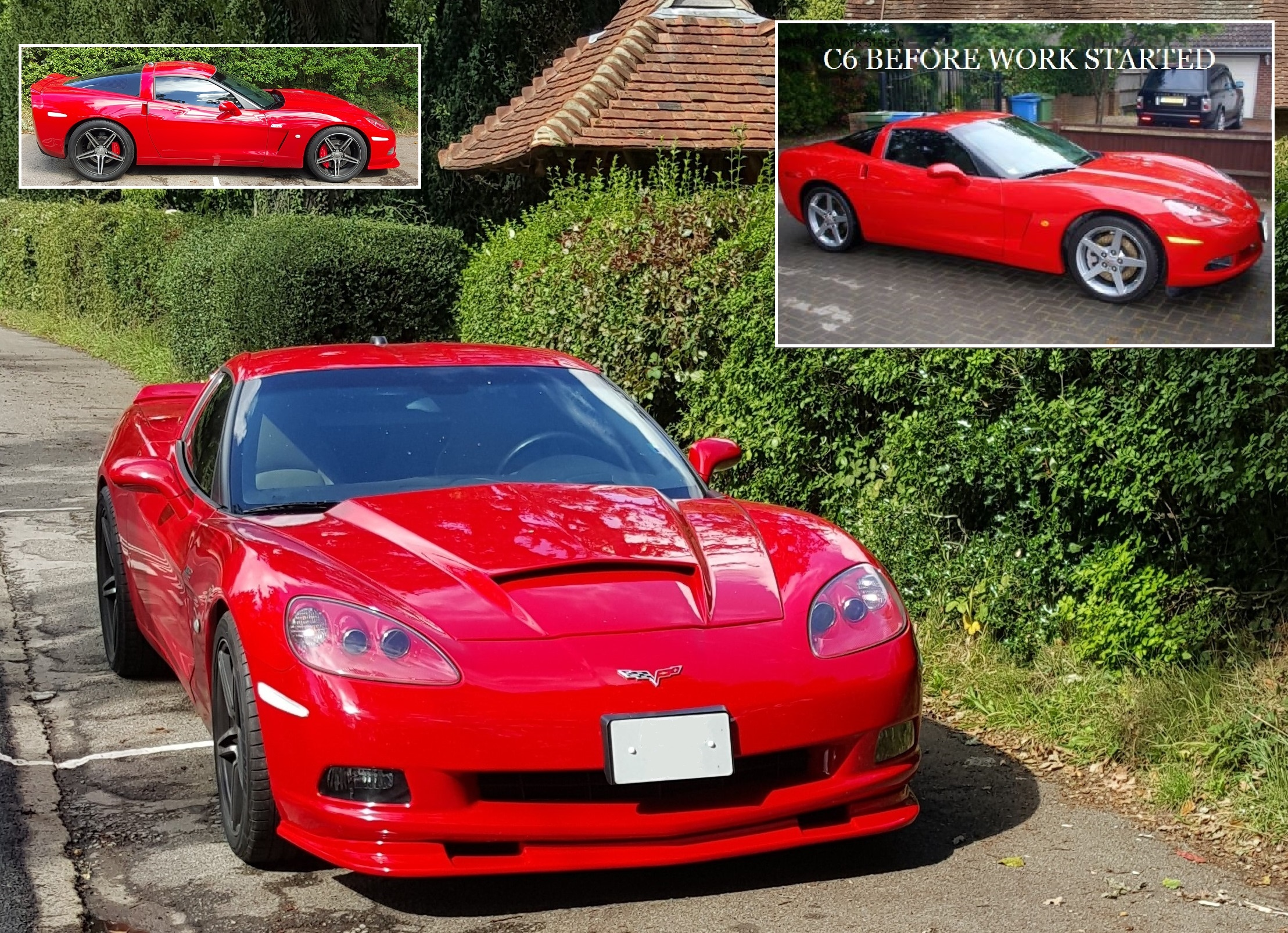 2005 c6 Corvette Transformation pec