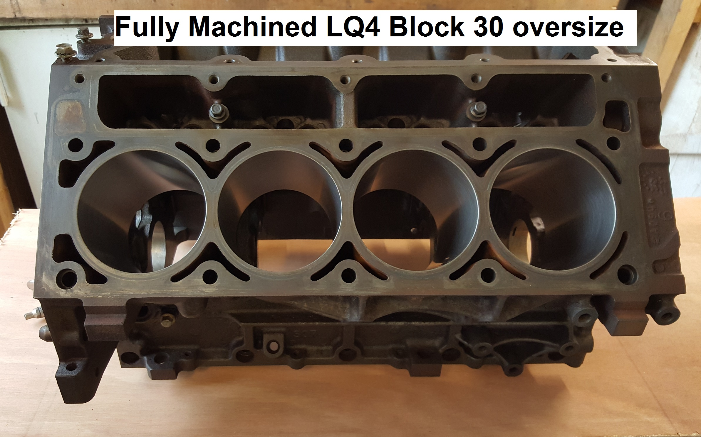 MACHINED BLOCK