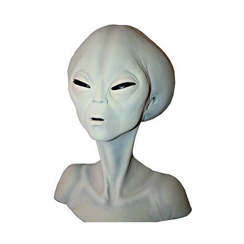Roswell Gray Alien Collectors Bust Prop