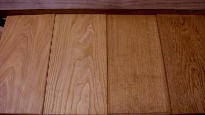 木のサンプル板