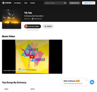 Watch Tik Tak DJ Schoeny Feat. Rosa Veleno