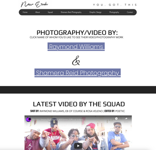 Check out LATEST VIDEO BY THE SQUAD SHOT BY: RAYMOND WILLIAMS, EB OF COURSE & ROSA VELENO   EDITED BY: POETIIC