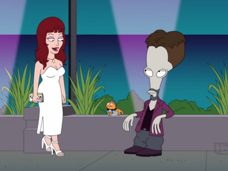 Courtenay on American Dad!