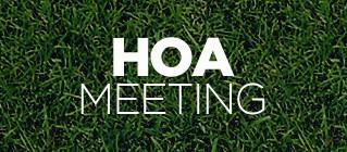 Waterside HOA Meeting Sept 29, 2015