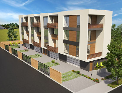 875 Alvarado, San Leandro, townhome style codo development