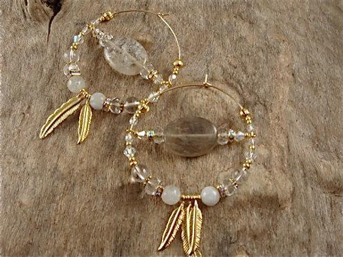 Crown Chakra Earrings Grande