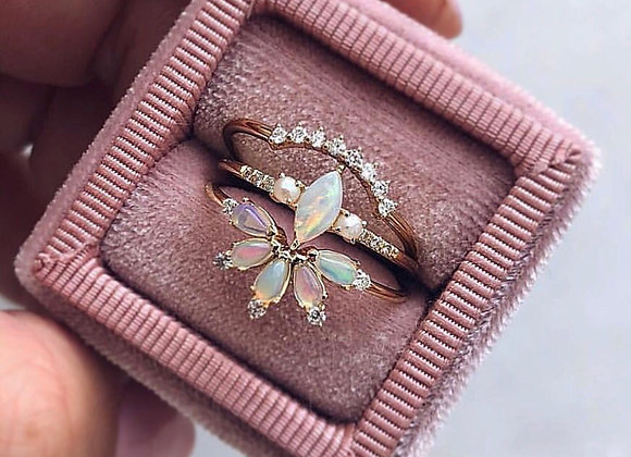 Parisian Butterfly Ring