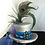 Thumbnail: Silver Devil Tiny Top Hat... Jaunty and Fine
