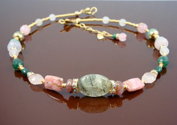 Small Heart Chakra Necklace