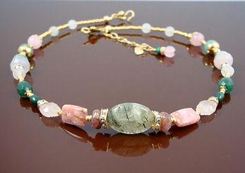 Heart Chakra Necklace with Malachite