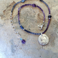 Brow Chakra Sterling Necklace
