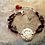 Thumbnail: Sterling Silver Root Chakra Bracelet