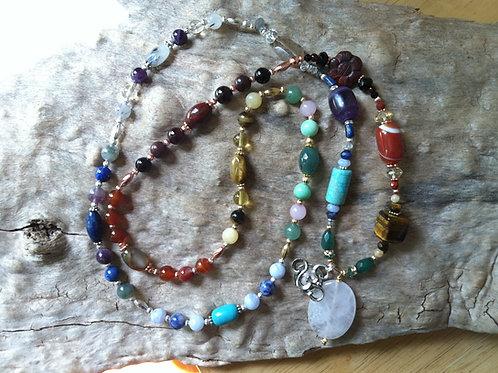 Chakra Mediation Necklace