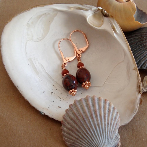 Sacral Chakra Earrings (Small)
