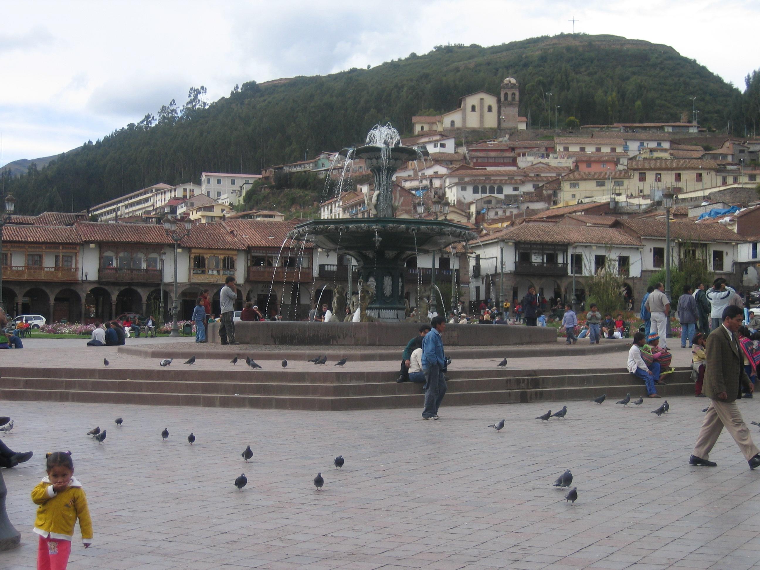 Cuzco plaza