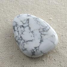 Howlite Focal Stone