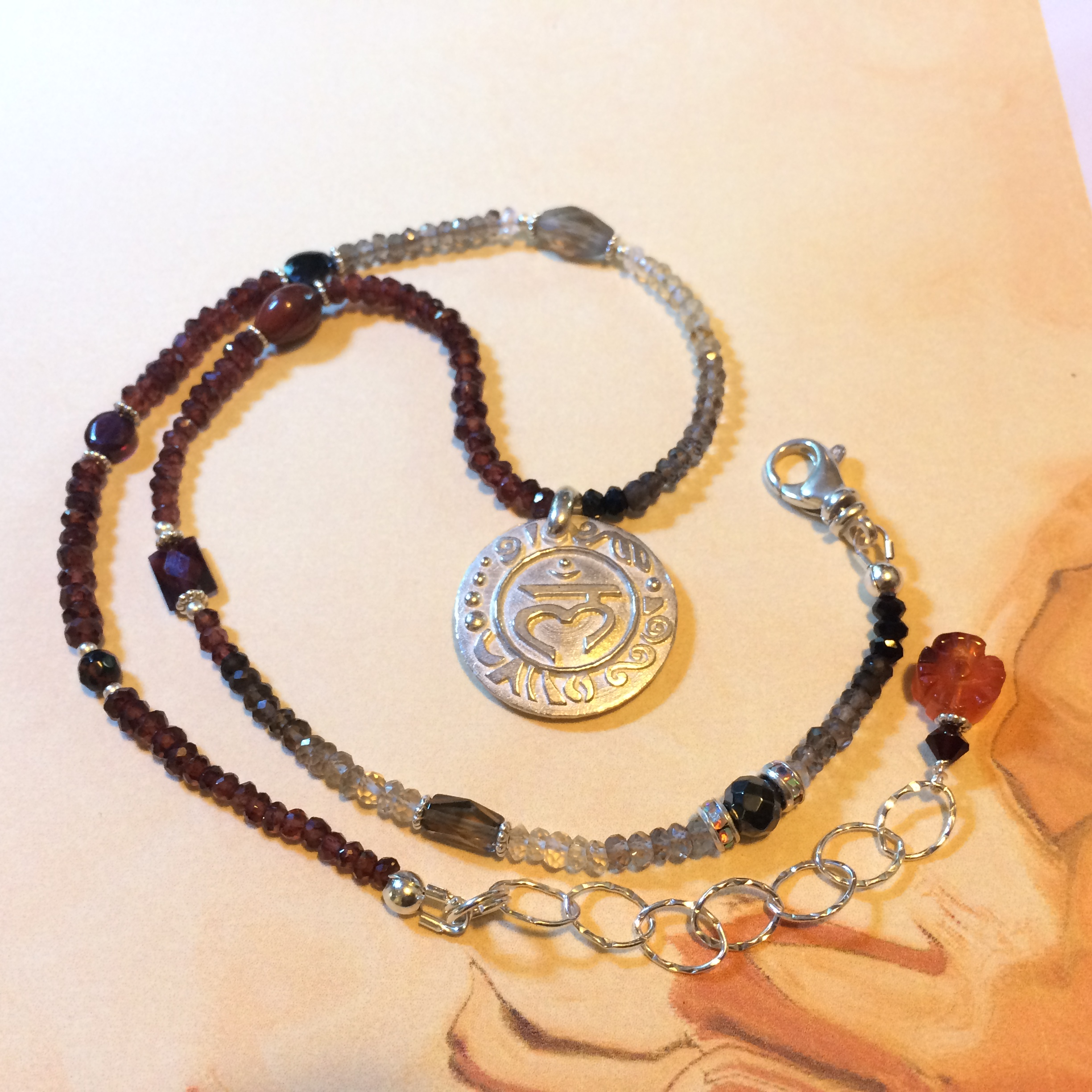 Root Chakra SS Necklace