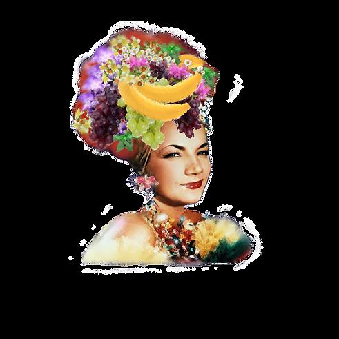 Carmen Miranda wearing EPS earrings