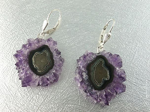 Awesome Stalactite earring sterling