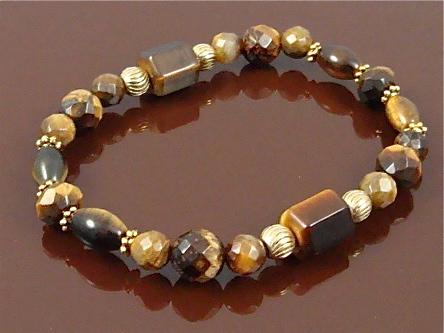 Tiger Eye Chakra Bracelet