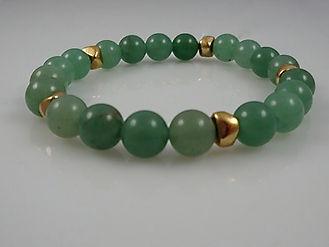 Heart Chakra Green Aventurine Bracelet