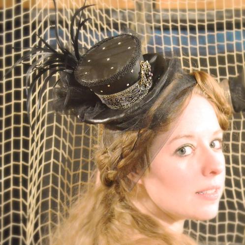Black Tiny Top Hat, Night at the Opera