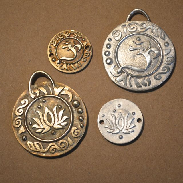 Om pendants and charms