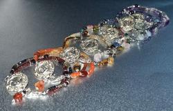 Sterling Silver Chakra Bracelets