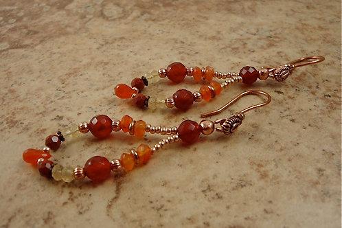 Sacral Chakra Earrings (Grande)