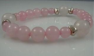 Rose Quartz Bracelet on Stretch cord