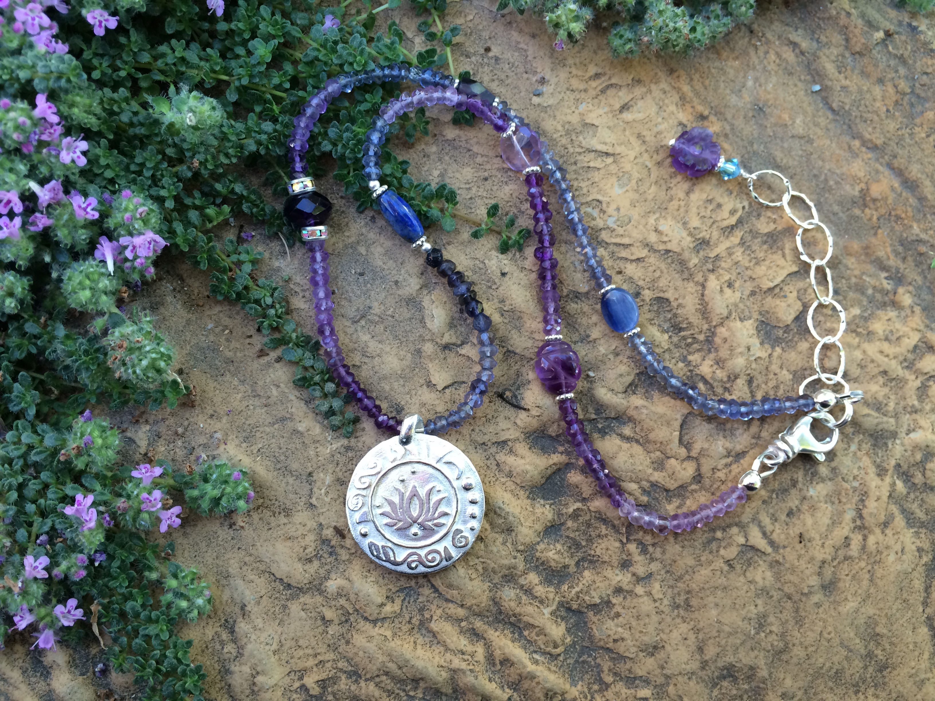 Brow Chakra Necklace
