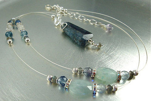 Kyanite Necklace Set