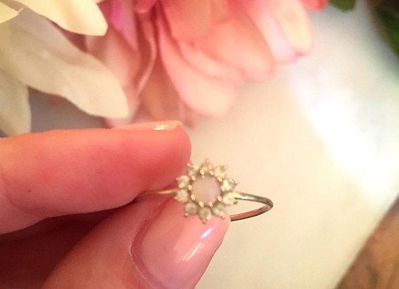 Fleur de Coeur Ring